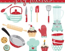 My Kitchen Personal and Commercial Use Clip Art-INSTANT DOWNLOAD