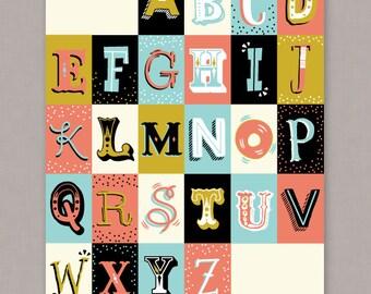 "PRINTABLE 8x10 poster ""ABC's"" - PDF Digital File"