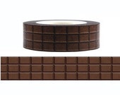 Chocolate Washi Tape (15M)