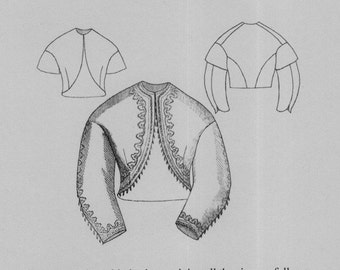 TV444 - Truly Victorian #444, 1864 Spanish Jacket Sewing Pattern