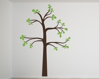 Sale baby room nursery The Original Shelf Tree  large  Two Color vinyl wall decals