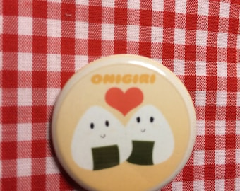 Onigiri Love Button