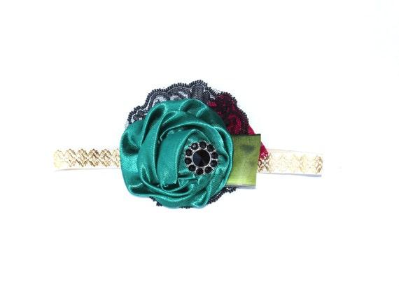 2014 ANNA Coronation Can Can Headband Disney Collection -Disneyland Disney, Frozen, Princess Spring, Summer, Newborn, Photo prop