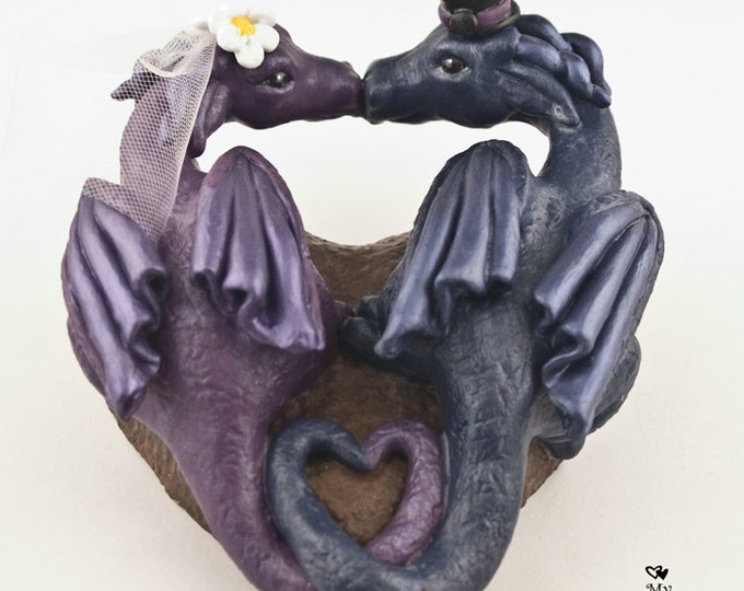 Dragons Love Wedding Cake Topper