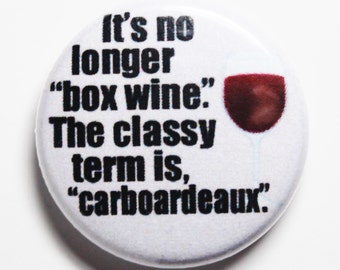 Cardboardeaux - 1inch Button, Pin or Magnet