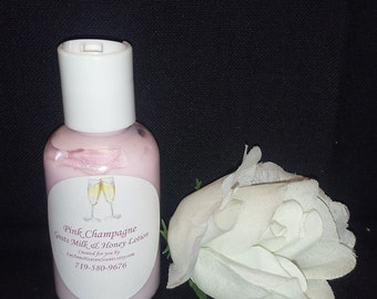 Glitz AND Glamour Goats Milk & Honey Lotion- You Choose-Blackberry Amber, Champagne, Heavenly, Peony, Pure Seduction, Lovely, Happy