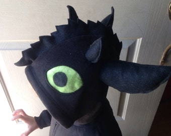 How to Train your Dragon -  Toothless costume