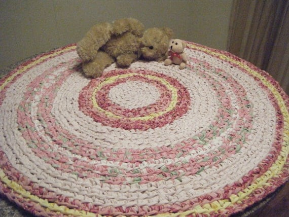 Pink Girls Bedroom Rug For Etsy