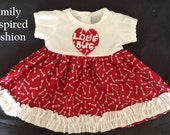 Baby girl valentine dress