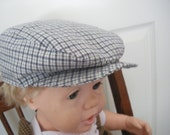 boys vintage style hat ,, newsboy hat,   9 mo-4T