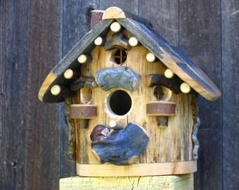 Rustic Maple Birdhouse #6