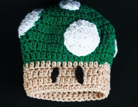 Items similar to Mario Bros. Toad Crochet Hat on Etsy