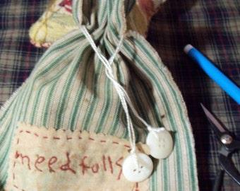 Prim Ditty bag for Needful things