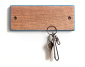 Key Board -Walnut with Colored Edges- Key holder with magnets.
