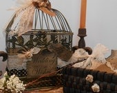 SALE / Birdcage / Wedding Wishes Birdcage / Wedding Decoration / Birdcage For Wedding Wishes / Wishes Box / Birdcage