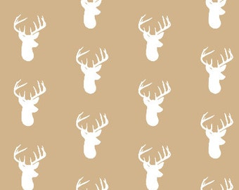 Deer Crib Bumpers - Tan Deer Crib Bumpers - Crib Bedding - Deer Crib Bedding