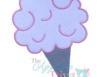 Circus Summer Cotton Candy Digital Embroidery Design Machine Applique