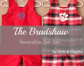 The Bradshaw Reversible Jon Jon- Instant Download