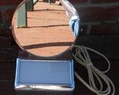 Mid Century  Acme Chrome Vanity Mirror