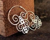 Nazca Silver Earrings