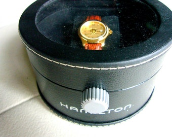 HAMILTON Beautiful  Swiss Made Womens Wrist Watch Runs Great in Box