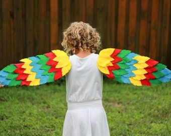 Custom Dress Up Halloween Children's Bird Wings