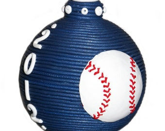 Sports themed ornament - double sided