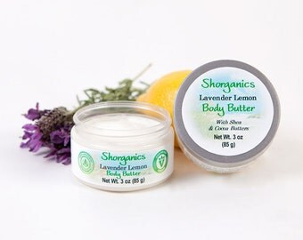 Organic, Vegan Body Butter