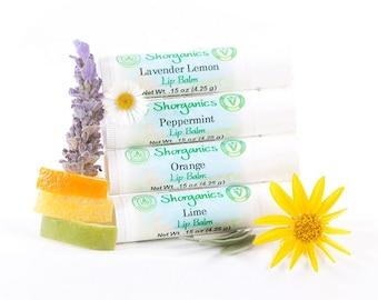 Organic, Vegan Lip Balm