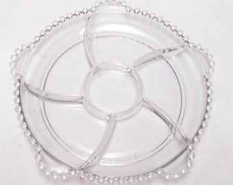 Imperial Candlewick 400/112 Dressing Relish Tray