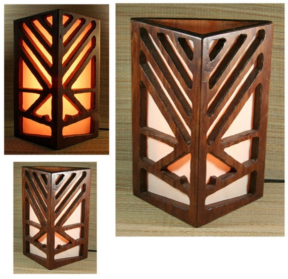 Tiki Bar Table Lamp / Wall Sconce Light