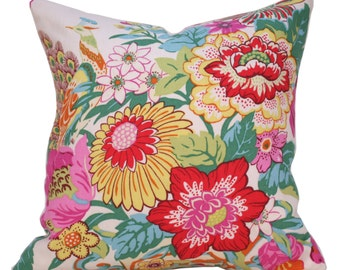 Designer Pillow - Robert Allen Eliza's Garden Pillow - Toss Pillow