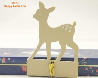 Deer - Animal Modeling Memo Pad - 35 Sheets