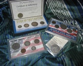 Late 1800s to Early 1900s Coin Sets - Silver - SALE