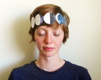 Paper Party Crown, Moon Phases