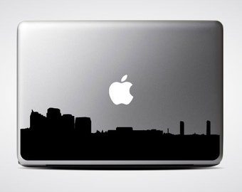 Sacramento Skyline Macbook Decal #1 / Macbook Sticker / Laptop Decal