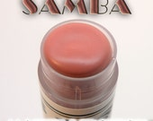 SAMBA MATTE Neutral Flesh Pink LIPSTICK, Neutral lipstick, Coral lipstick, light Red lipstick, matte lipstick, brown lipstick, rose lipstick