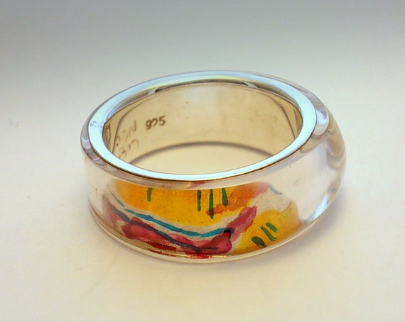 On  Sale.  ABSTRACT   RING.  One  Off.
