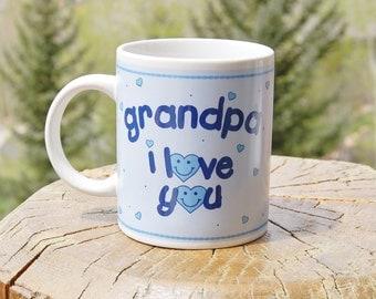 Grandpa Mug   I Love You Ganz