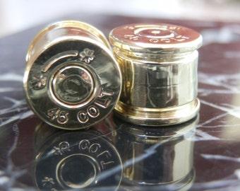 45 Colt Ear Plugs/Gauges