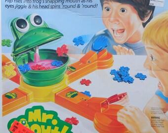 Vintage Milton Bradley Mr. Mouth Board Game 1993