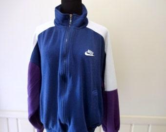 Vintage Nike Large Zippered Jacket 1994