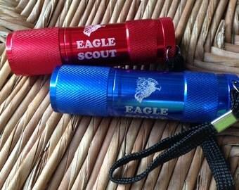 Eagle Scout LED Flashlight - Laser Engraved