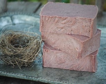 Soap, Woodland Gift, Exfoliating Soap, Walnut Hull Soap, Homemade Soap, Gifts for Mom, Christmas Gift, Soap for Dad, Soap for Boyfriend