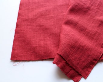 cotton double gauze fabric. japanese pure cotton fabric. soft like a cloud. 102cm (40inch) wide. sold by 100cm (39inch) long. wine red