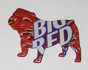 BULLDOG Magnet - BIG RED Soda Can