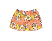Prehistoric 80s Neon Dino'd Out Boxer Style Shorts - 28 to 32