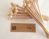 Wooden Candy Sticks *NEW* - Ready to Ship