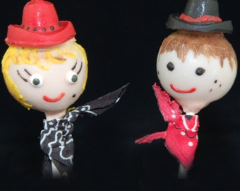 CAKE POPS: Cowboy Cake Pops, Cowgirl Cake Pops, Western Cake Pops, Western themed Party Favors, Rodeo Cake Pops