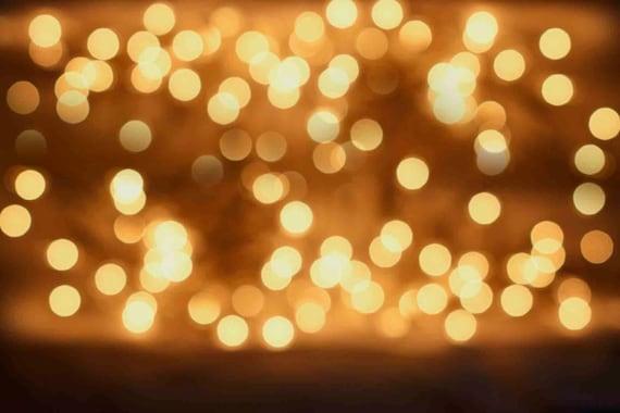blurry christmas lights merry - photo #29